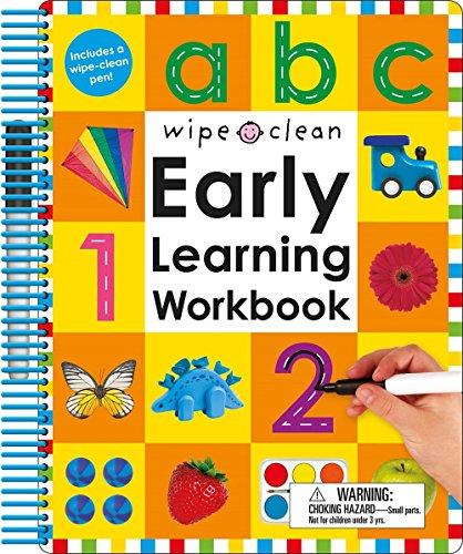 Wipe Clean: Early Learning Workbook (Wipe Clean Learning Books)
