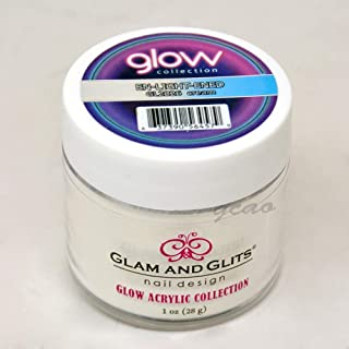 Glam and Glits ACRYLIC Glow in the Dark Nail Powder - En-Light-Ened 2026