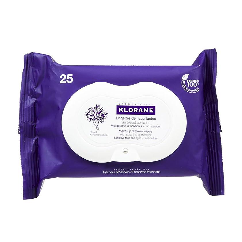 洗う時代必要とするKlorane Floral Wipes Cleansers Eyes 25 Wipes [並行輸入品]