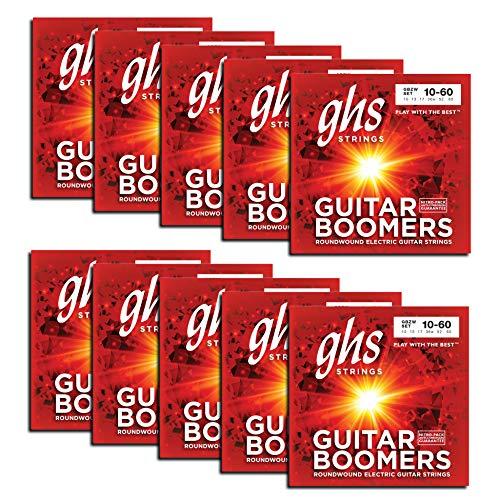GHS Saiten für E-Gitarren (GBZW-10-Set)