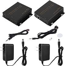 HDMI Extender RJ45 Signal Amplifier,150M 110V-240V HDMI Extender RJ45 Signal Amplifier Support Video Input: 24/50/60fs/1080p/1080i/720p/576p/576i/480p/480i.