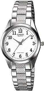كاسيو ساعة عملية كاجوال نساء انالوج بعقارب ستانلس ستيل - LTP-1274D-7BDF