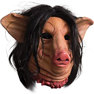 Rubie's Men's Saw Pig Face Overhead Latex Mask