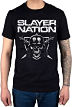 Official Slayer Nation 2014 Dates T-Shirt