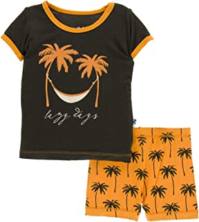 Bamboo Short Sleeve Pajama Set with Shorts
