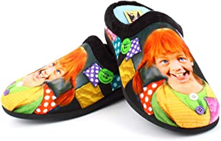 Zapatillas Andar por casa cómodas Mujer inspiradas en Pipi Calzaslargas