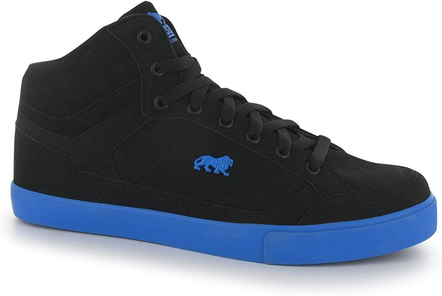 Lonsdale Canons Trainers Mens Black bluee Casual Sneakers shoes Footwear