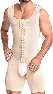 NonEcho Men Shapewear Tummy Control Full Body Shaper Slimming Bodysuit Plus Size