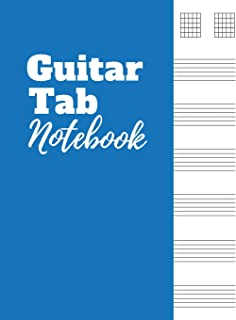 Guitar Tab Notebook: Guitar Tablature Journal for Teachers, Students, Guitar Players and Musicians