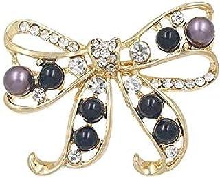 FOPUYTQABG Broche de moda lindo gato hombres camisa Pin broche de las señoras F joyería collar de metal insignia accesorio...