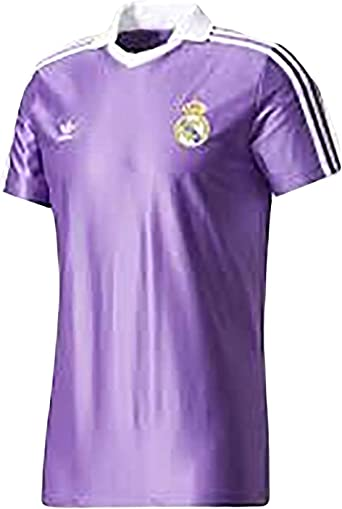 adidas Mens Real Madrid Jersey OG BS2369_XL - RAY Purple at Amazon ...