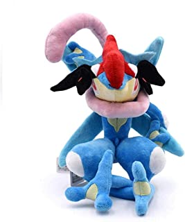 35Cm Greninja Plush Toy Cute Cartoon Stuffed Plush Doll Toy Hot Anime Toys Good Gift for Children Detazhi