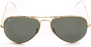 Ray Ban Men's RB302500158 Gold Metal Sunglasses