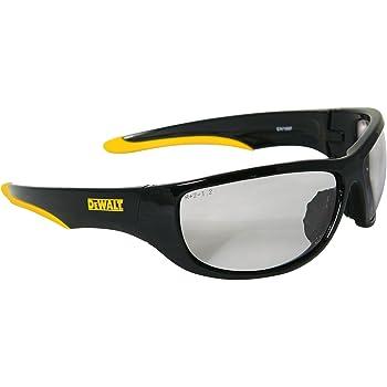 Black Frame//Amber Lens LIFT Safety Quest Safety Glasses EQT-12KAB