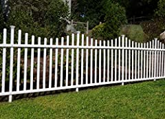 This fence is designed for semi-permanent residential applications that are not subject to intense wear and tear; not recommended to contain large dogs Fence can be easily removed and re-installed Assembles and installs with relative ease- little to ...