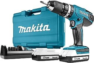 Makita HP457DWE10 Combi Drill, 18 V, Multi-Colour