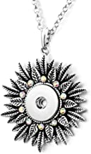 New Snap Jewelry Fits Ginger Snap 30 NECKLACE Silver Tassel 18mm