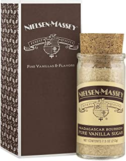 Nielsen-Massey Madagascar Bourbon Pure Vanilla Sugar, with Gift Box, 7.5 ounces