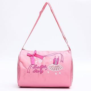 Kungfu Mall Kungfu Mall Mini Mädchen Baby Kind Kind Pink Princess Dance Ballet Handtasche einzelner Schulter Segeltuch beiläufige Tote Rucksack