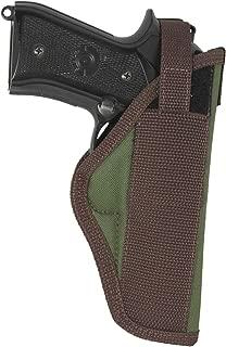 Barsony New Woodland Green Outside The Waistband Holster for Full Size 9mm 40 45 Pistols