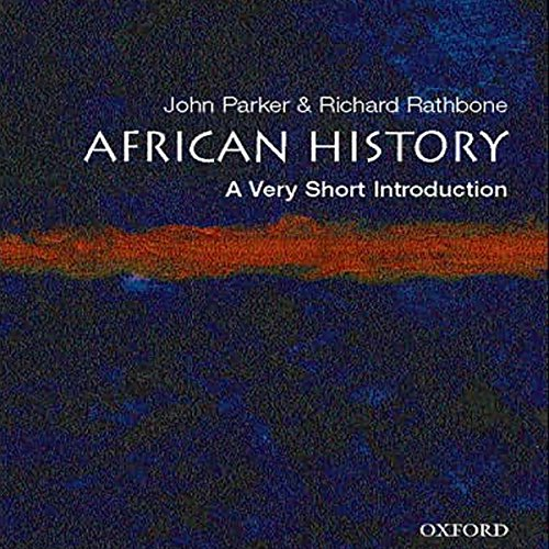 African History audiobook cover art