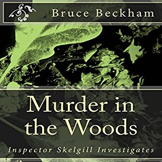 Murder in the Woods audiobook cover art