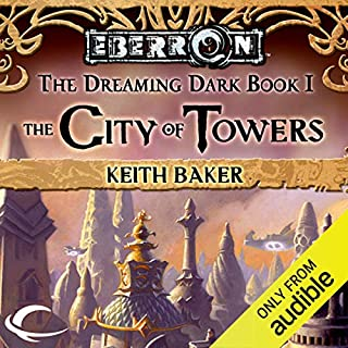The City of Towers audiobook cover art