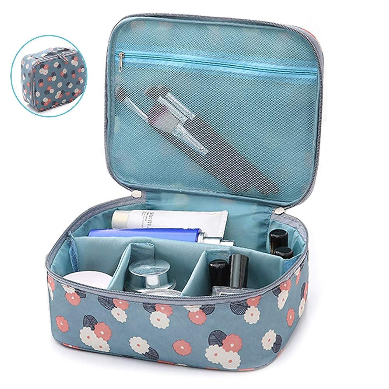 メイクボックス プロ用 大容量 コスメボックス 旅行ポーチ 化粧道具 小物収納 メイクポーチ