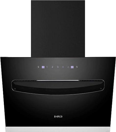 Elica 60 cm 1100 m3/hr Filterless Chimney (EFL-S607 VMS, Motion Sensor Control, Black)
