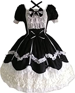 Partiss Women's Gothic Princess Cosplay Sweet Lolita Dress