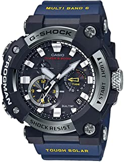 Casio GWFA1000-1A2 Frogman Men's Watch Blue 56.7mm Carbon/Stainless Steel