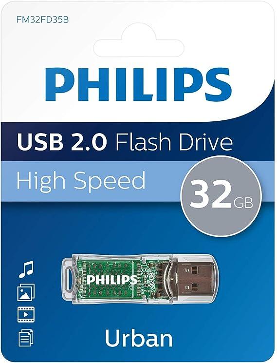 Philips Urban 2 0 Usb Flash Laufwerk 32 Gb Computer Zubehör