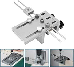 TOPQSC 6/8/10/15mm Posicionador de taladros de Madera Profesional Super Guía de Perforación Última Versión Auto-centrada en Madera con Precisión