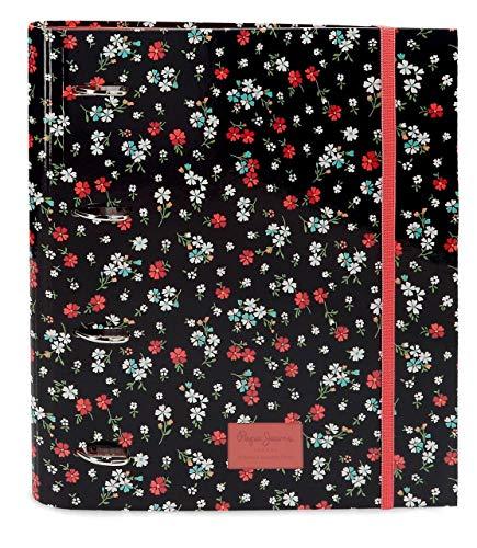 Pepe Jeans PJL Jareth, Carpeta de Anillas Archivo y Almacenamiento Papelería Unisex Adulto