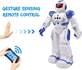Bix Robots Toys For Kids,Interactive Toy Walking Singing Dancing Programmable Gesture Sensing,Robotics Toys for Boys