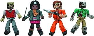 Diamond Select Toys Walking Dead Minimates Prison Outbreak, 4-Pack (Amazon Exclusive)