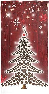 أوشحة AHOMY للنساء ندفة الثلج الأحمر شجرة عيد الميلاد خفيفة الوزن واقية من الشمس أغطية الرأس