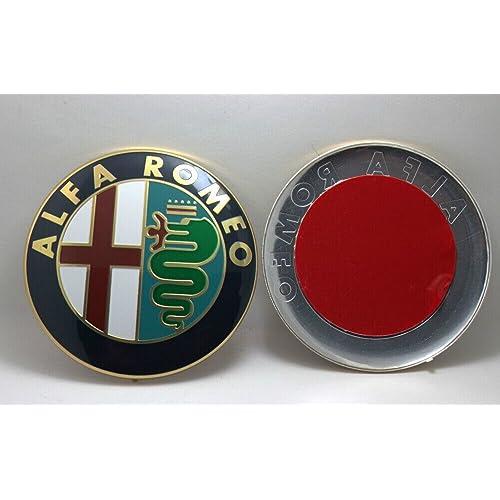 Emblema delantero o trasero para Mito, Giulietta, Brera, 147, 159 y GT