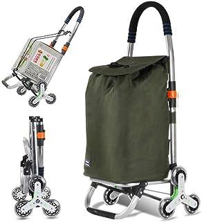 PAKUES-QO Chariot de pesée, pliable, solide, avec sac imperméable, pour bagages, multifonction, grande capacité de 50 litr...