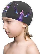 CHLING Kids Swim Cap - Frozen Elsa Princess Swimming Cap Children Bathing Hat for Boys and Girls