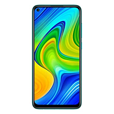 "Xiaomi Redmi Note 9 4GB RAM + 128GB, 48MP Quad Camera Hotshot, 5020mah Battery, 6.53 ""FHD +, LTE Factory Unlocked Smartphone - International Version (Forest Green)"