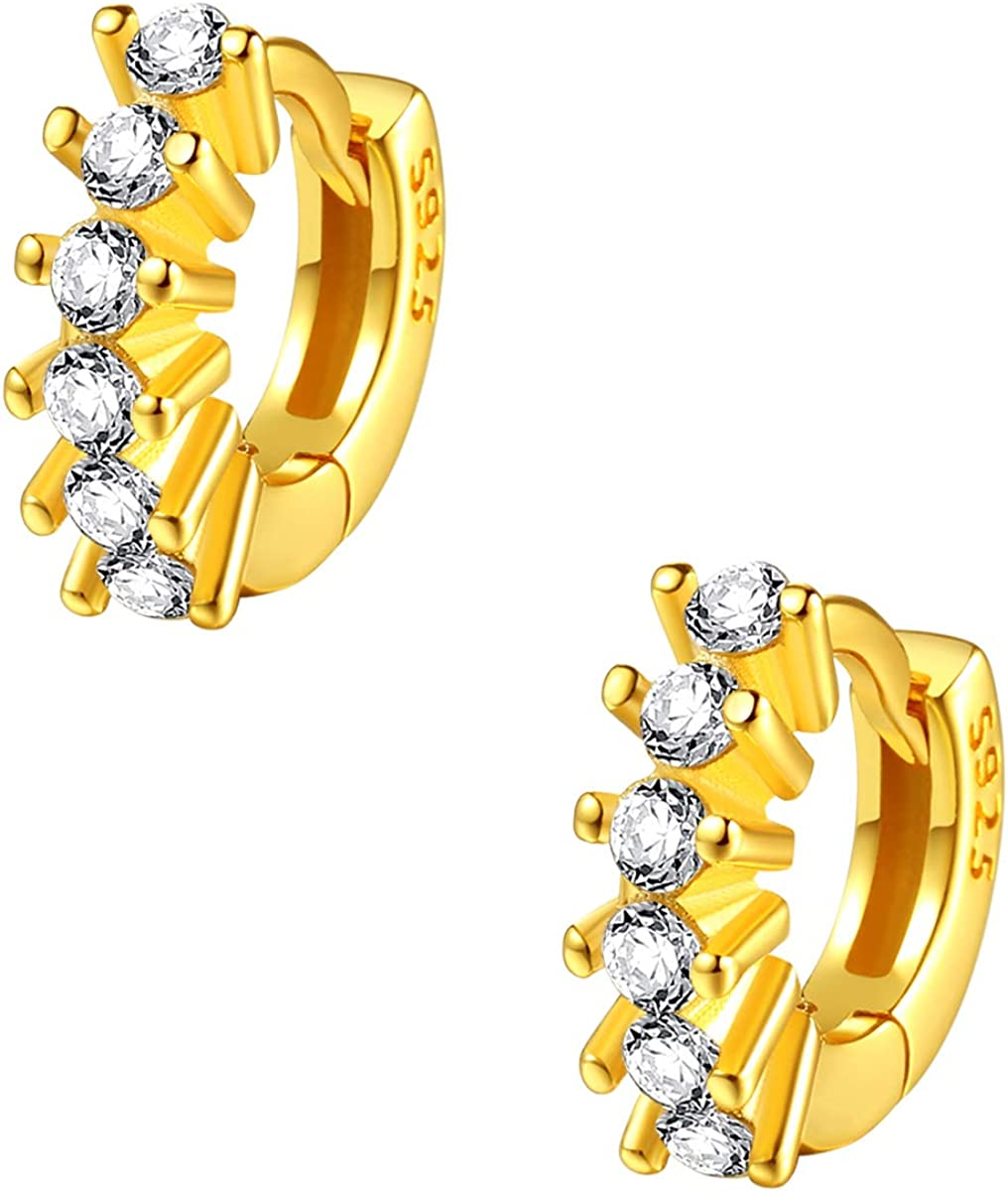 Happiness Ranking integrated Online limited product 1st place Boutique Women Helix Earrings Silver Sterling Sma Gold