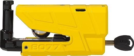 ABUS 190025 hangslot, geel