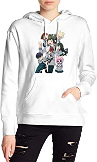 My Hero Academia Boku No Hero Katsuki Bakugo Deku Todoroki Shoto Hoodies Sweatshirt Adult Pullovers for Women