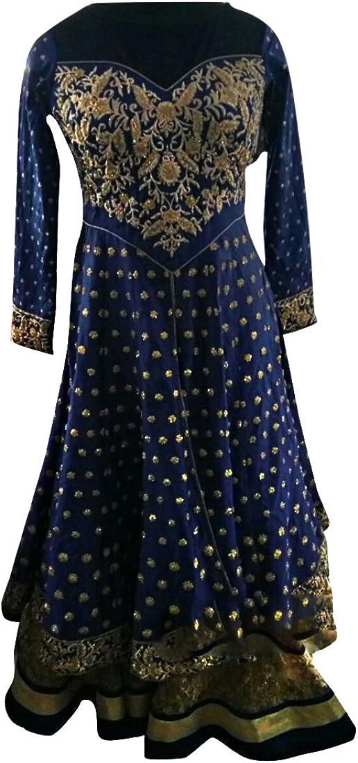 Bollywood Customized Indian Muslim Bridal Wedding Ceremony Anarkali Salwar Suit Gown Dress Ethnic 761
