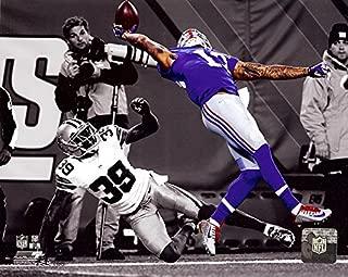 New York Giants Odell Beckham Jr. Makes The Catch of a Lifetime! 8x10 Photo. (Spotlight)