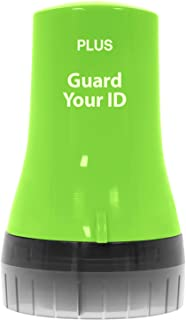 Guard Your ID ADVANCED WIDE Roller Identity Theft Prevention Security Stamp GREEN (38492)