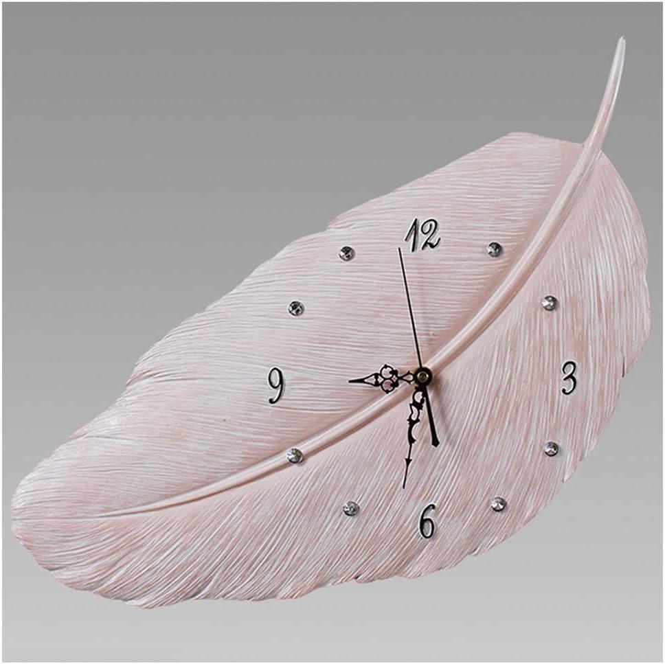 DWE-Watch Shop Mute Decorative Clock Environmentally OFFicial site Fees free!! Wall Frien