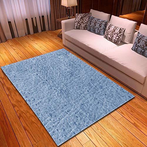 CGZLNL Alfombra de Suelo Patrón de mármol Home Alfombra Impreso Fácil de Limpiar Salón Comedor Dormitorio Alfombra de Suelo Tamaño: 160 x 230 cm