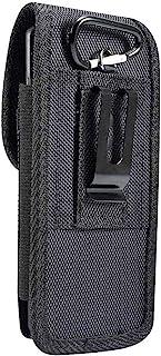 DFV mobile - Nylon Belt Holster with Metal Clip and Card Holder for InnJoo 4 - Black